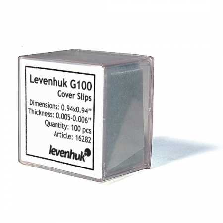Krycí sklíčka Levenhuk G100 100 ks