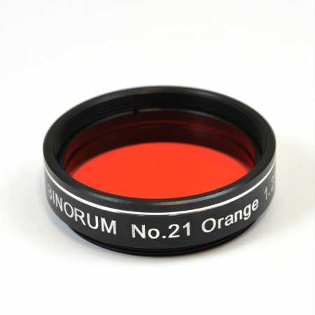 Filtr Binorum No.21 Orange (Oranžový) 1,25″
