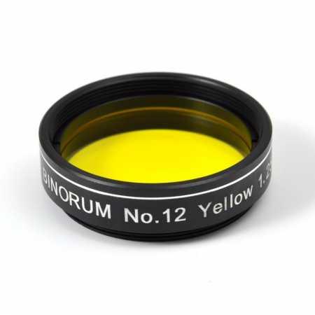 Filtr Binorum No.12 Yellow (Žlutý) 1,25″