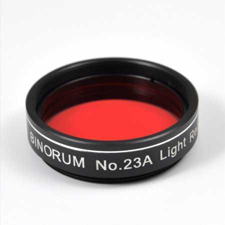 Filtr Binorum No.23A Light Red (Světle červený) 1,25″
