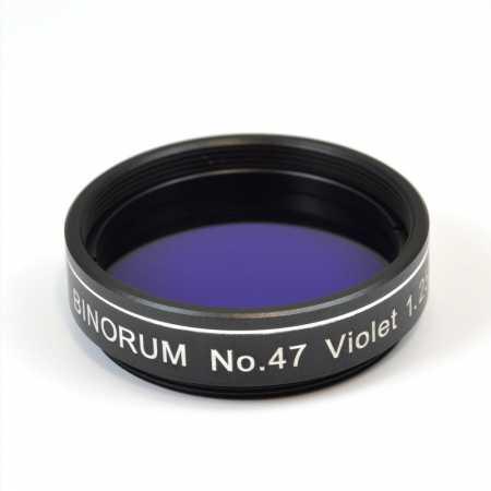 Filtr Binorum No.47 Violet (Fialový) 1,25″