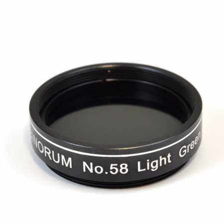 Filtr Binorum No.58 Light Green (Zelený) 1,25″