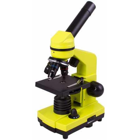 Mikroskop Levenhuk Rainbow 2L Limetka 40x-400x
