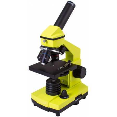 Mikroskop Levenhuk Rainbow 2L PLUS Limetka 64x–640x