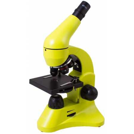 Mikroskop Levenhuk Rainbow 50L Limetka 40x-800x