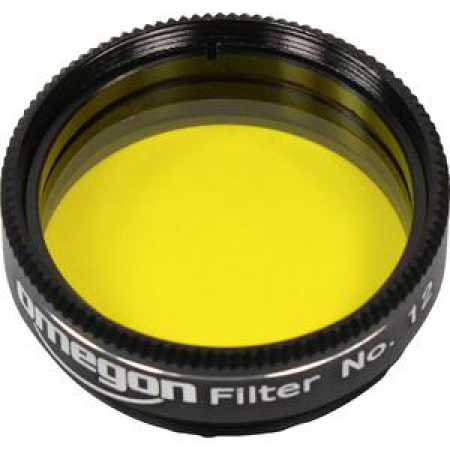 Filtr Omegon Barevný filtr žlutý 1,25″