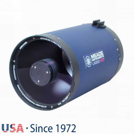 """Hvězdářský dalekohled Meade 203/2032 LX200 8&Prime; F/10 OTA - <span class=""""red"""">Pouze tubus s příslušenstvím, bez montáže, bez stativu</span>"""