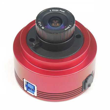 ZWO ASI385 USB3.0 Color CMOS Camera - Chip D=8.35 mm