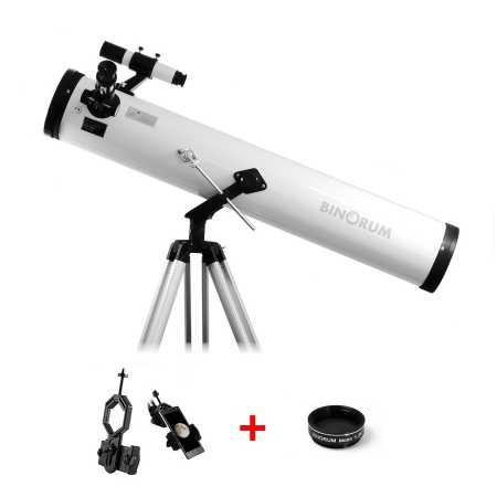 Hvězdářský dalekohled Binorum Explorer 114/900 Deluxe AZ2