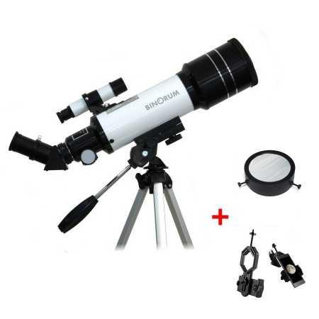 Hvězdářský dalekohled Binorum Traveler 70/400 Deluxe AZ