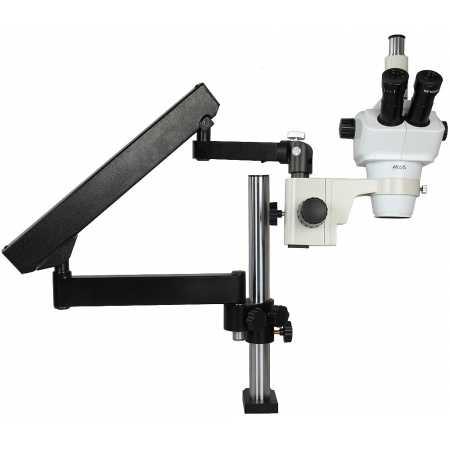Mikroskop stereoskopický DeltaOptical SZ-630T 8x-50x + stativ F1