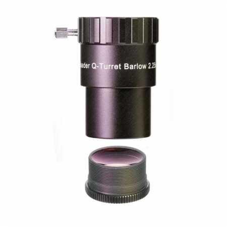 Barlow čočka Baader Planetarium 2.25X/1.3X Q-Classic HT 1,25″