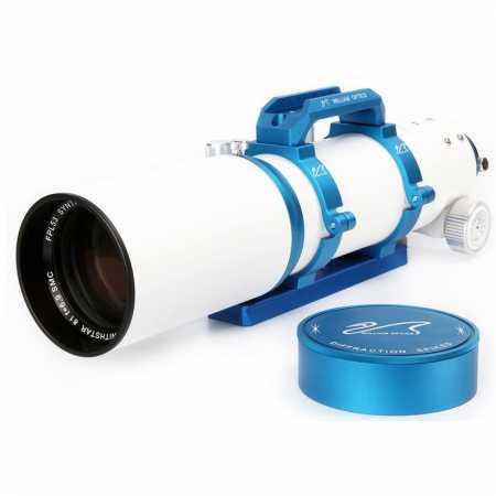 """Apochromatický refraktor William Optics 81/559 ZenithStar 81 Blue OTA - <span class=""""red"""">Pouze tubus s příslušenstvím, bez montáže, bez stativu</span>"""