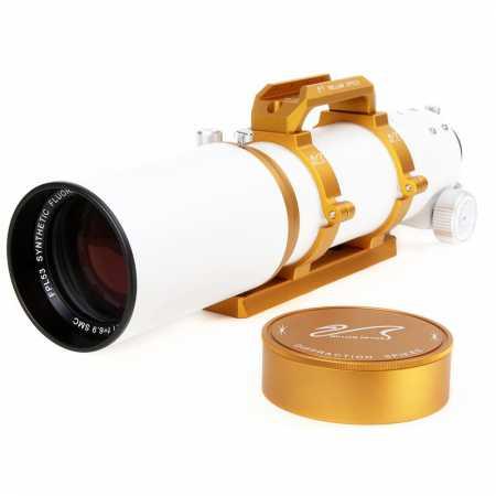 """Apochromatický refraktor William Optics 81/559 ZenithStar 81 Gold OTA - <span class=""""red"""">Pouze tubus s příslušenstvím, bez montáže, bez stativu</span>"""
