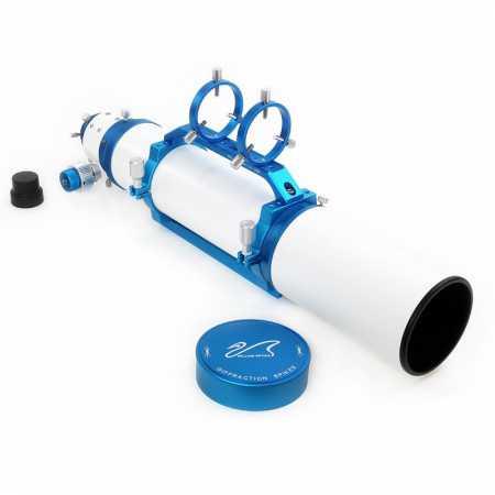 """Apochromatický refraktor William Optics 103/710 ZenithStar 103 Blue OTA - <span class=""""red"""">Pouze tubus s příslušenstvím, bez montáže, bez stativu</span>"""