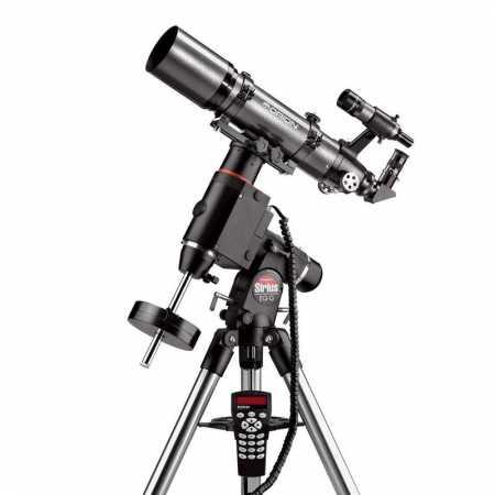 Apochromatický refraktor Orion 80/600 ED Sirius HEQ-5 GoTo