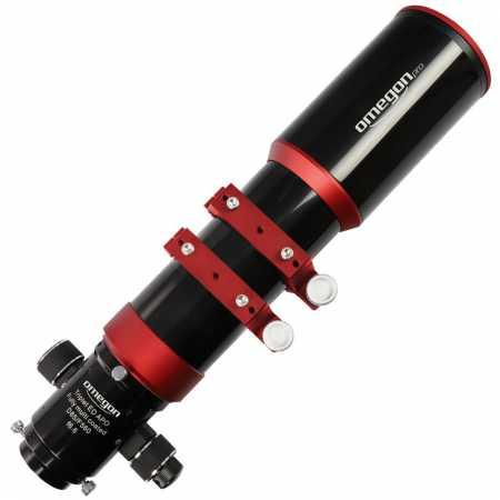 """Apochromatický refraktor Omegon Pro APO85/560 ED Triplet OTA - <span class=""""red"""">Pouze tubus s příslušenstvím, bez montáže, bez stativu</span>"""