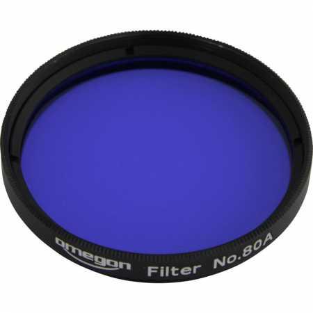 Filtr Omegon #80A 2″ colour, blue