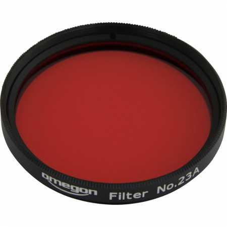 Filtr Omegon #23A 2″ colour, light red