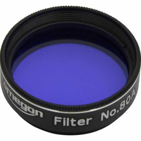 Filtr Omegon #80A 1,25″ colour, blue