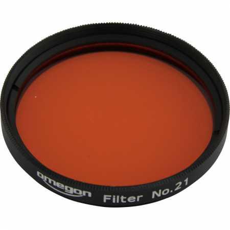 Filtr Omegon #21 2″ colour, orange