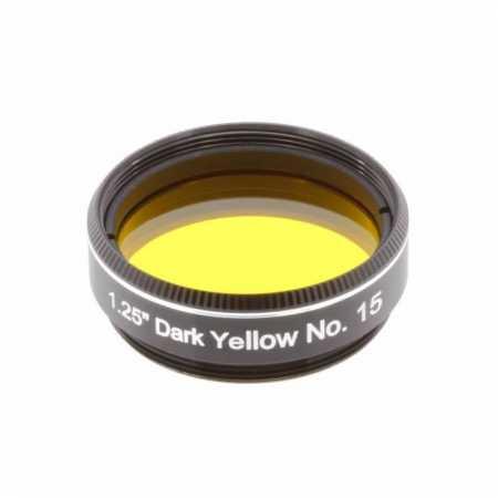 Filtr Explore Scientific Dark Yellow #15 1,25″