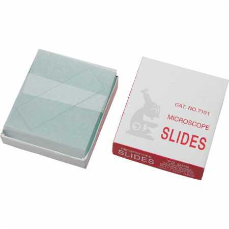 Mikroskopické sklíčka Omegon 25.5x76.2cm, zabroušené hrany, 50ks