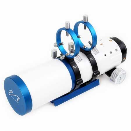 """Apochromatický refraktor William Optics 71/350 WO-Star 71 Blue OTA - <span class=""""red"""">Pouze tubus s příslušenstvím, bez montáže, bez stativu</span>"""