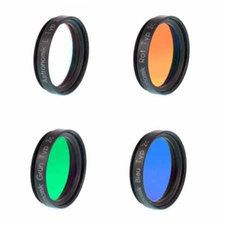 Sada filtrů Astronomik 1,25″ LRGB