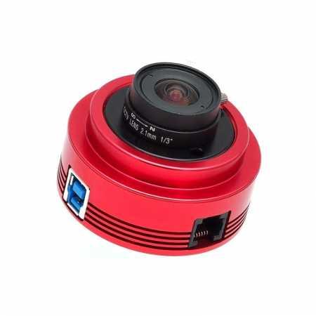 Monochromatická kamera ZWO ASI120MM-S USB3.0 High-speed Mono Camera - moon, planets, weather
